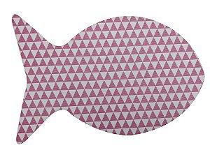 Jogo Americano Peixe Geo Pink