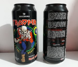 Cerveja Iron Maiden The Trooper 473 Ml Brasil Ipa