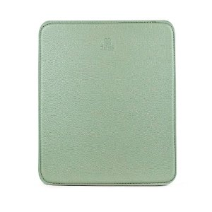 Mouse pad personalizável em couro erva doce