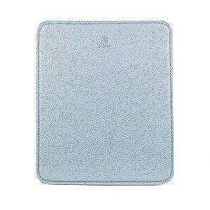 Mouse pad personalizável em couro cielo
