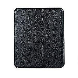 Mouse pad personalizável em couro preto