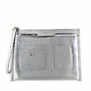 Organizador de bolsa personalizável em couro paloma