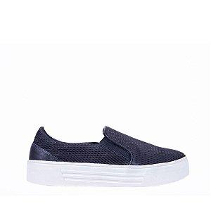 Sneaker Balaia MOD144 em couro Preto