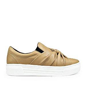 Sneaker Balaia MOD429 em couro Bege