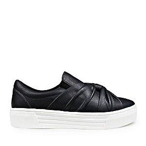 Sneaker Balaia MOD429 em couro Preto