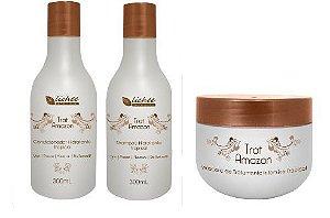 Kit hidratação Trat Amazon - Shampoo + Condicionador + Máscara