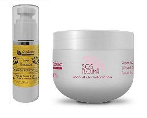 Kit SOS + Óleo de Tratamento (disponível na embalagem branca)