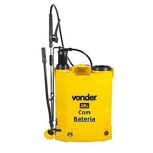 Pulverizador Costal a Bateria 2 em 1-18 litros Vonder