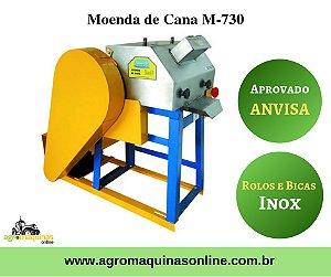 Moenda de Cana Vencedora M-730 Rolos Inox, Bicas do Caldo Inox