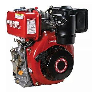 Motor Estacionário 10Hp Diesel Partida Manual Kawashima