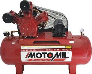 COMPRESSOR INDUSTRIAL – MAW-40/425 - INTERMITENTE MOTOMIL