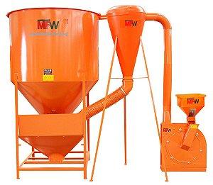 Conjunto Misturador de Ração e Triturador de Milho