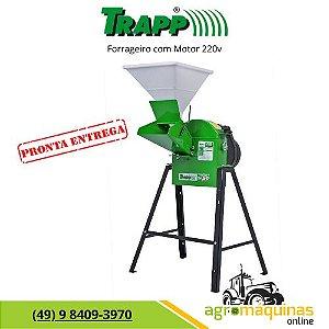 Forrageiro Triturador Trapp TRF-50 com Motor 1,5cv 220v Monofasico