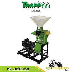 Forrageiro Triturador Trapp TRF-300G Com Motor Gasolina 7Hp