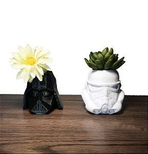 Darth Vader e Stormtrooper 3D