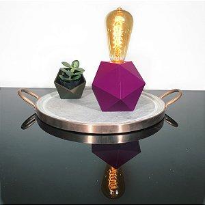 Luminária Geométrica 3D