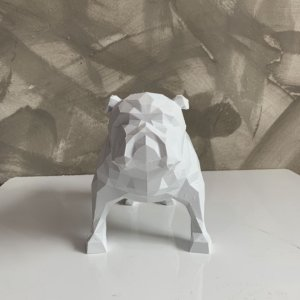 Bulldog Ingles 3D