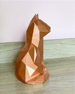 Gato Sentado 3D