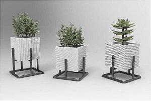 Trio Vaso 3D