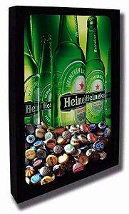 Quadro Porta Tampinhas de Cerveja Tamanho 42cm X 55cm