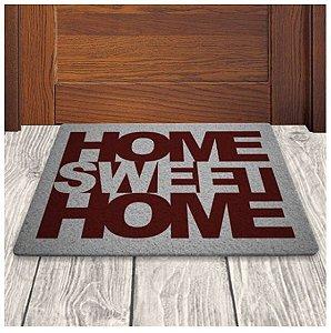 Tapete Capacho em Vinil - Home Sweet Home