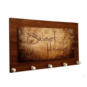 Porta Chaves e Cartas Personalizado Modelo Sweet Home