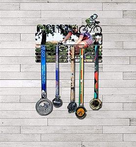 Porta Medalhas Ciclismo Feminino