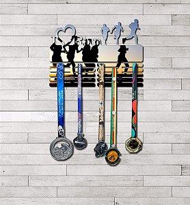Porta Medalhas I Love Run Masculino