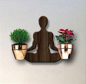 Treliça para Plantas Modelo Yoga - Jardim Vertical