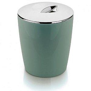 Lixeira Cromo Vitra Verde Menta 5L