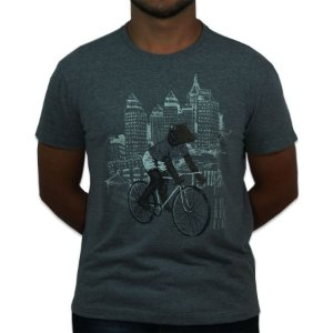 Camiseta|Bear Bike|Malha Recicle