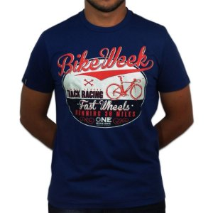 Camiseta |Bike Week|Malha Recicle