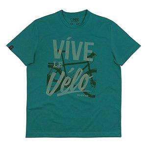 Camiseta|Víve le Vélo|Malha Recicle