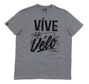 Camiseta|Víve le Vélo|Malha Infinity