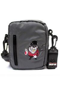 SHOULDER BAG GRAY BANDIT