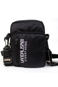 SHOULDER BAG STREET KING VANDALISM81 PRETA