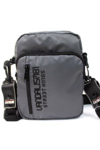 SHOULDER BAG STREET KING VANDALISM81 CINZA