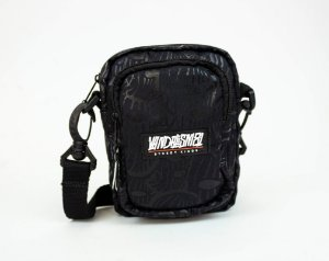 SHOULDER BAG BANDIT MASK BLACK 4.0