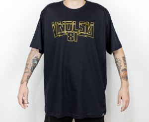 T-SHIRT YELLOW BLACK STAR