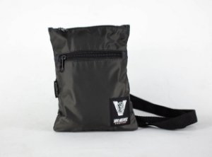 SHOULDER BAG SLIM DARK GREY
