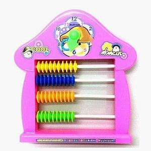 Abaco escolar cor sortida - Brinquedo Educativo - TOYS191224 - Satyam