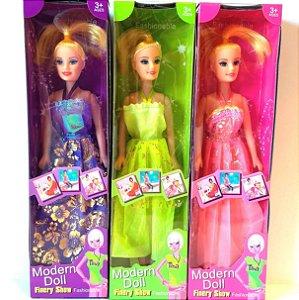 Boneca Modern Doll - VIolet Princesa 28 cm AB7328 PI3169