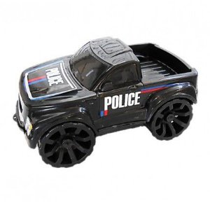 Carro Pickup Police PK7 DNA -  Policia  - 27 cm