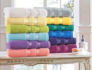 Toalha de Banho lisa Casa In Granada - Branca - 360 gr/m2 - Karsten