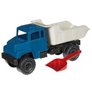 Caminhão Caçamba com Pa Ref.1156 Plaspolo - Varias cores