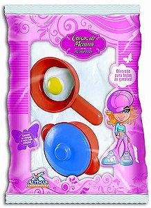 Panelinha e Frigideira com ovo - Brinquedo Altimar - Ref.2451