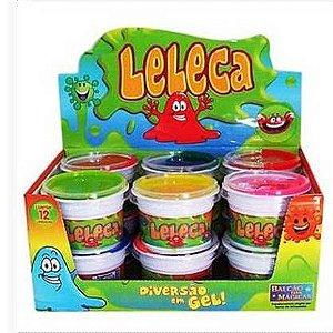 Geleca Leleca Gelkids - Ref.007 - Caixa com 12 potinhos