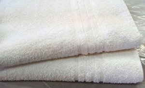 Toalha de Rosto Branca LIsa linha PROFISSIONAL - 420 gr/m2 - KIEHRTEX