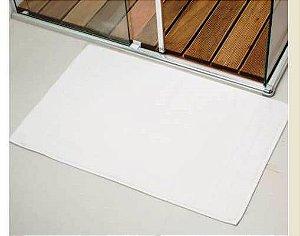 Piso de Banheiro Felpudo linha Hotelaria PROFISSIONAL liso - Branco - 490 gr/m2 - KIEHRTEX