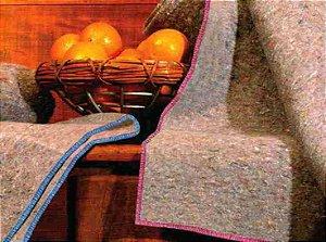 Cobertor para Doação -  Major - 180 x 210 cm - Alta Qualidade - Guaratingueta